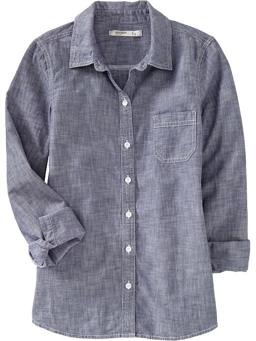 My foray into chambray he cooks she shops for Cuisine you chambray