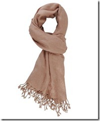 NudeShimmer Scarf
