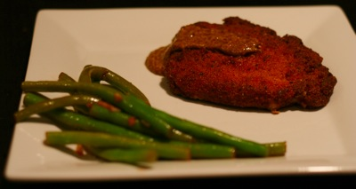 pork and green beans